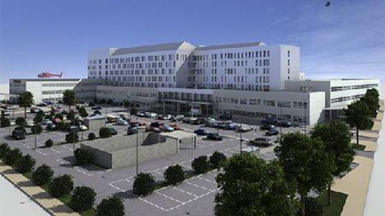 Así quedará el edificio tras la reforma y ampliación.