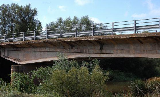 Imagen del puente objeto de las obras.