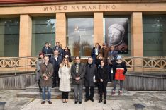 Minuto de silencio en el Museo Numantino.