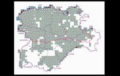 Distribución del censo regional de lobos. /Jta.