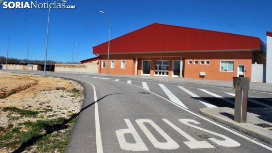 Una imagen de la entrad a un de los módulos del centro penitenciario de Las Casas, todavía sin uso. /SN