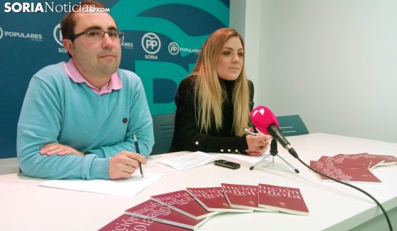 Raquel López y Alejandro Ramos este lunes. /SN