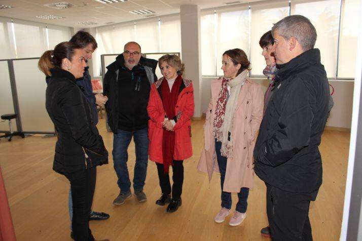 La ministra de Sanidad, Consumo y Bienestar Social, María Luisa Carcedo visitó el futuro Centro de Referencia Estatal de Atención Socio Sanitaria para personas en situación de dependencia en Soria.
