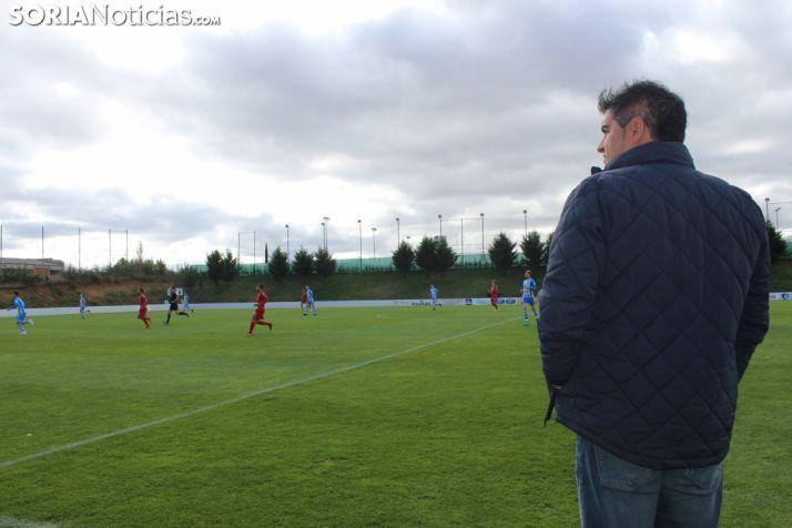 José Alejandro Huerta, en la Ciudad del Fútbol. SN