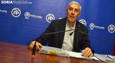 Alberto Rodríguez, este jueves en rueda informativa. /SN