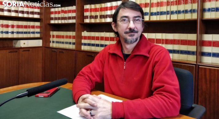 Luis Alberto Romero, este miércoles en rueda informativa. /SN