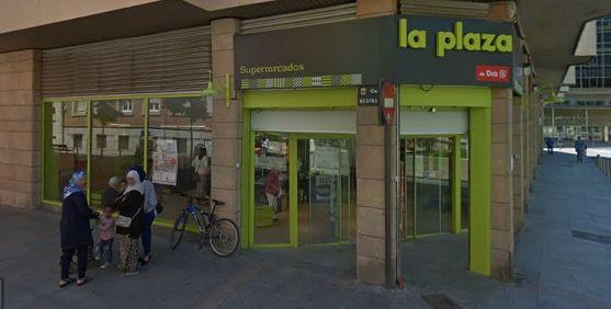 Establecimiento de la marca, en la calle Medinaceli frente al Rincón de Bécquer. /GM