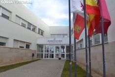 Fachada del Campus Duques de Soria. SN