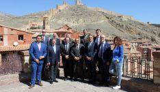 Miembros del Consejo rector del Camino del Cid este jueves. /CCC