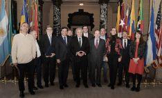 Miembros Consejo DS con Secretario General OEA, Luis Almagro (ctro). /CECALE/)