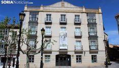 Imagen del centro cultural en la plaza de San Esteban, en la capital. /SN
