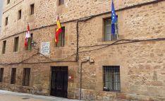 Imagen del edifico de la EOI de Soria.