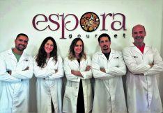 Foto de equipo Espora Gourmet.