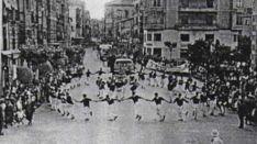 Una imagen de las fiestas en la década de los 60.