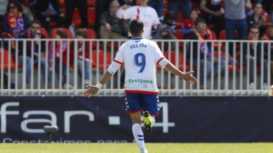 Héctor Hernández vapuleó al Numancia en Madrid. LaLiga