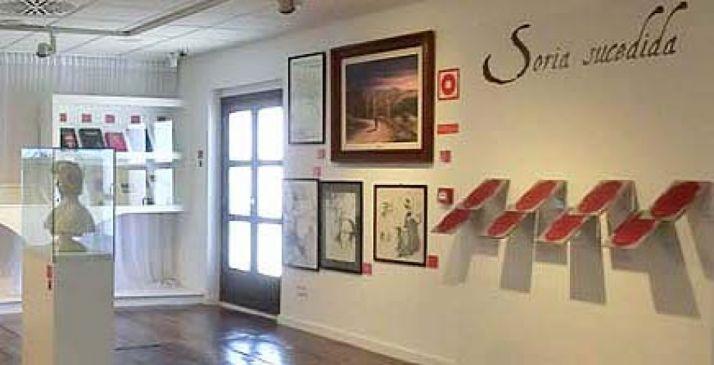 Imagen del museo Casa de los Poetas, en el Casino, lugar de referencia de la estancia de Machado en Soria.