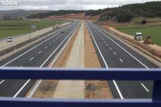 Imagen de la autovía este miércoles. /SN