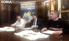 Presentación del Nations Future Cup en el Ayuntamiento de Soria. /SN