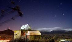 Imagen del observatorio El Castillo, en Borobia.