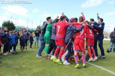 El Numancia Juvenil alza la Liga en Soria. SN