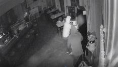 Imagen captada por una de las cámaras de seguridad en uno de los establecimientos asaltados. /GC