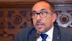Luis Rey, presidente de la Diputación, este miércoles.