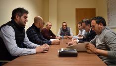 Una imagen de los inegrantes de la Mesa de la Trufa. /SN