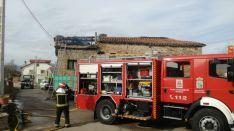 Los bomberos sorianos actuaron en Villabuena y Gallinero. Ayuntamiento de Soria