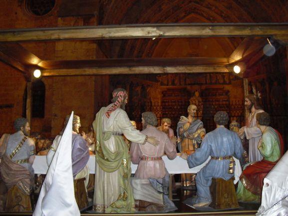 Paso de la Cena de Jesús de El Burgo de Osma.