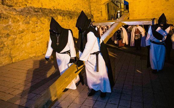 Imagen procesional en El Burgo de Osma.