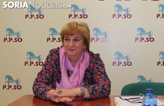 María Jesús Ruiz en una imagen de archivo.
