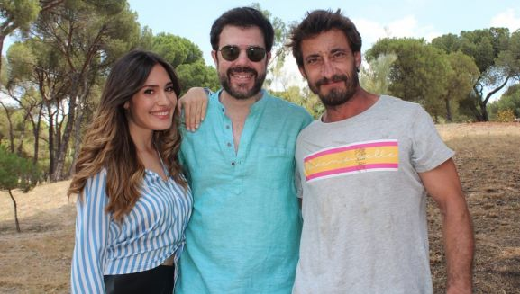 India Martínez, César Ríos e Ismael Martínez. /FPN