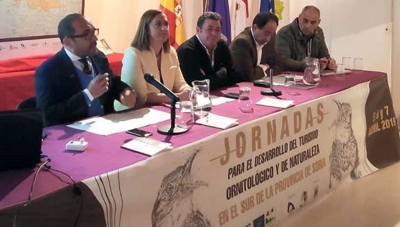 Presentación de las jornadas este viernes en Medinaceli. /Dip.