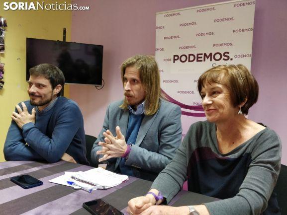 María Luisa Muñoz, número uno en la lista de Podemos Soria. SN