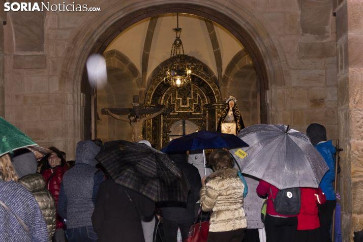 Procesión del Silencio pospuesta hasta el Viernes Santo a las 9:00. /Jasmín Malvesado