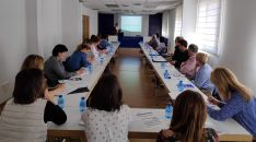 Uno de los cursos sobre el registro de jornada auspiciados por FOES.