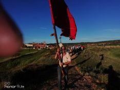 Una imagen de la festividad de San Isidro en Quintanilla este miércoles. /SN