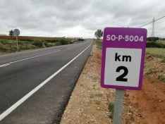 Modificaciones en las carreteras sorianas. Diputación de Soria