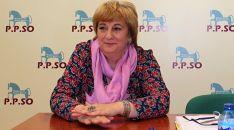 María Jesús Ruiz, candidata de PPSO al Ayuntamiento agredeño. /SN