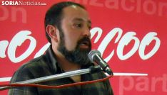 Javier Moreno, secretario general de CCOO en Soria. /SN
