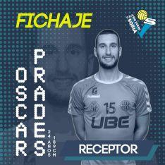 Óscar Prades, primer fichaje del Río Duero para la temporada 2019-20. Río Duero