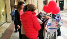 Imagen de la campaña en la capital.