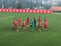 El Numancia Juvenil es eliminado de la Copa de Campeones en A Madroa (Vigo). CD Numancia