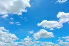 Nubes. Imagen de archivo.