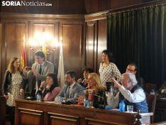 Último pleno del ayuntamiento de Soria
