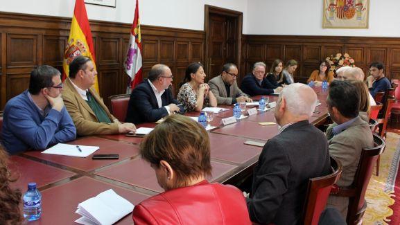 Imagen de la reunión este miércoles. /SdG