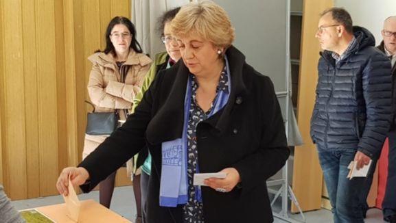 María Jesús Ruiz, candidata de la PPSO al Ayuntamiento de Ágreda. /SN