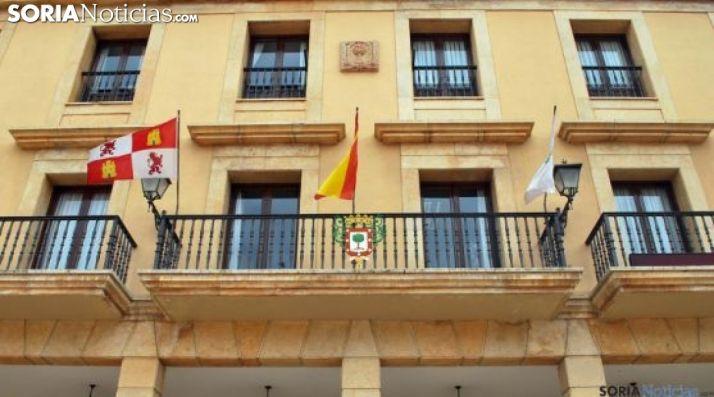 Imagen del ayuntamiento adnamantino. /SN