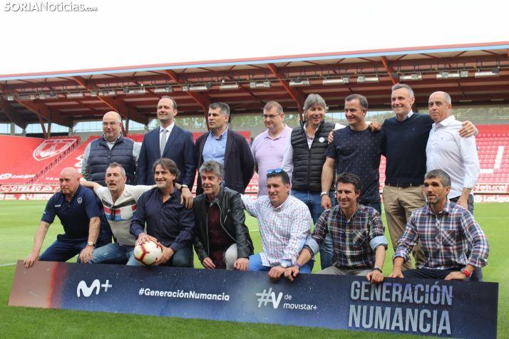 'Generación Numancia' ha sido presentada en Los Pajaritos. SN