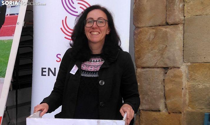 Teresa Madrid, cabeza de lista de Soria en Común al Ayuntamiento capitalino. /SN